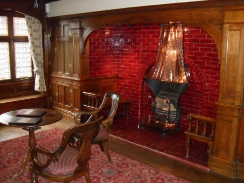 Inglenook Fireplace, Bantock House hall