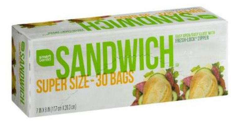 """FREE Smart Sense Sandwich Bags at Kmart! Download the Kmart mobile app for your smart phone and get a freebie every Friday! Tap on """"Friday Fix"""" to get a coupon valid for a FREE Smart Sense Sandwich Bags! The coupon is redeemable in-store and is valid through 7/30/17. Have the cashier scan..."""