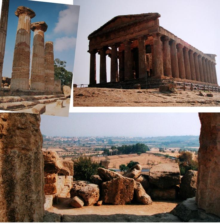 Sicily in ruins in Syracuse, Agrigento, Selinunte and Segesta