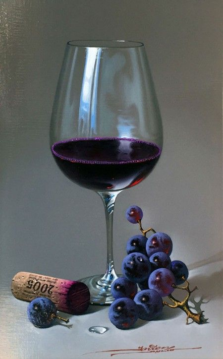 MULIO---RED-WINE-GRAPES-AND-CORK-AUGUST-2015   - by Javier Mulió, known simply as Javier to collectors around the world