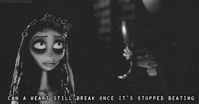 Can a heart still break once it's stopped beating ?
