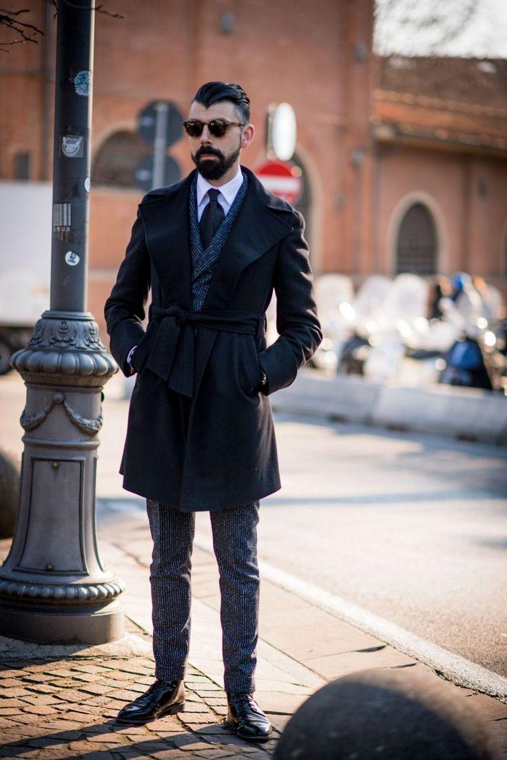 Moda masculina, beleza e lifestyle.