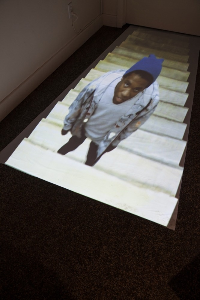 Pay Attention, 2012, video installation