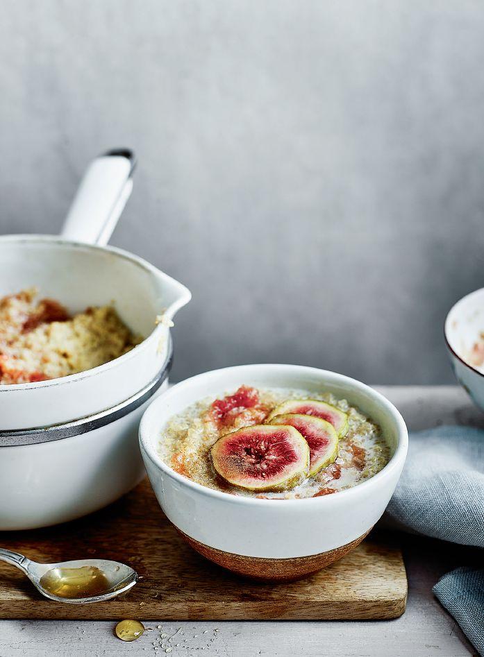 Fig and Cinnamon Quinoa Porridge