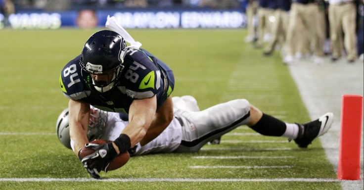 Preseason NFL games are important for your NFL football betting. This is the first measure on how great a team will be this season. Check out this Preseason photo of Seattle Seahawks' Cooper Helfet dives across the goal line to score against the Oakland Raiders in the second half of a preseason NFL football game   Visit: http://www.sportsbook.ag/football-betting/NFL/