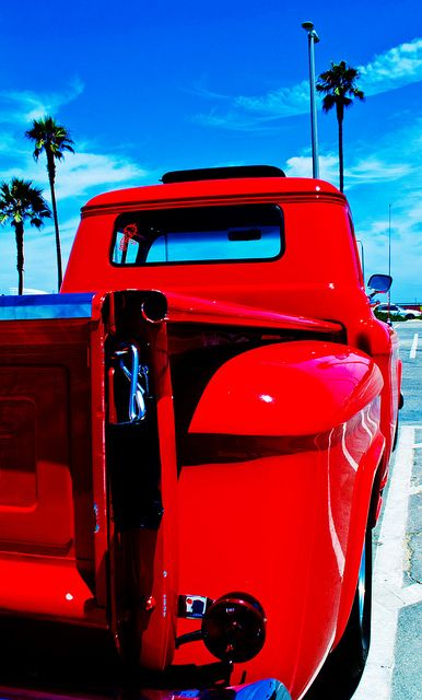 #California Ride #ford #red