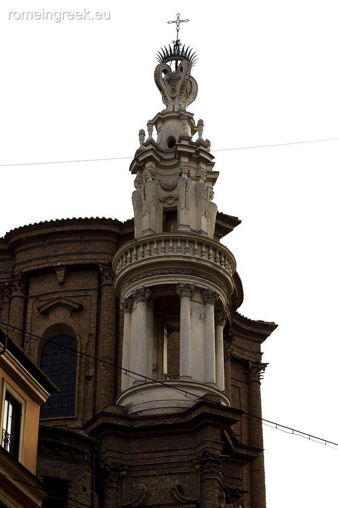 Basilica Di Sant Andrea Delle Fratte Campanile Di Borromini