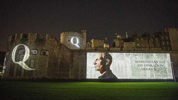 Outdoor Projection - Tower of London
