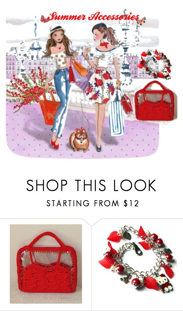 Summer accessories by mariliart on Polyvore