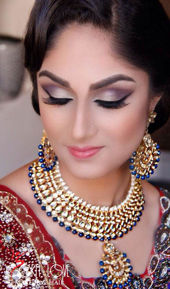 indian wedding makeup | Indian Wedding Hair