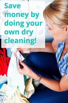 Save Money By Doing Your Own Dry Cleaning |  Krazy Coupon Lady