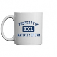 Nativity Of BVM School - East Dubuque, IL | Mugs & Accessories Start at $14.97
