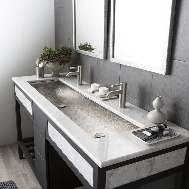 Would you, could you imagine a trough sink to share? Check out this sink by Native Trails!  Share your thoughts on the design, I would love to know! #troughsink