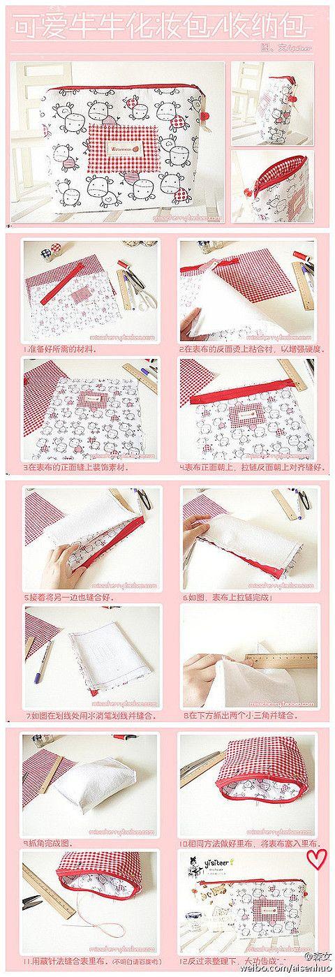 Nana Craft Corner: Tutorial Handtasche