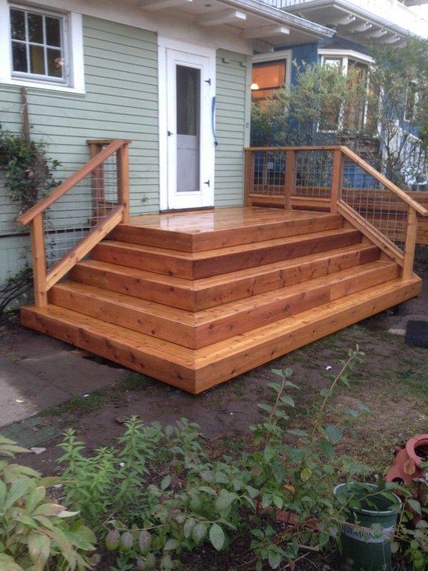 Outdoor Panels For Decks ~ The best cedar deck ideas on pinterest