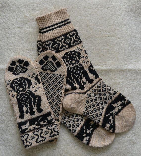 NORWEGIAN Hand Crafted 100% wool socks and от NordicStarStudio