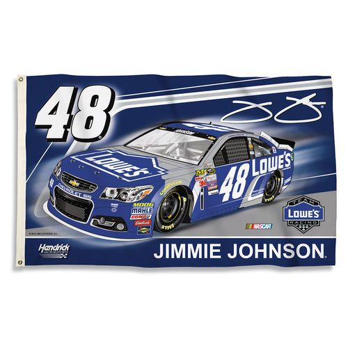 Jimmy Johnson NASCAR Flag