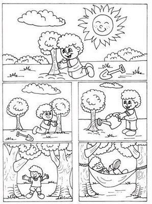 logische volgorde boom