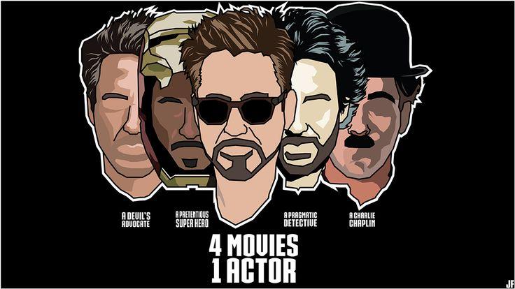 Robert Downey Jr Filmography on Behance