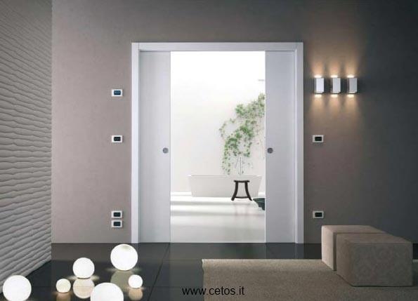 Luxury Double Bathroom Entry Doors