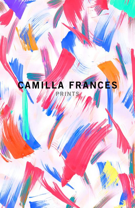Camilla Frances Print update yums. This advertisement is very effective because the design implies what the derive is so too much information does not have to be included on the design itself. It is very colorful and intricate which pleases the eye.