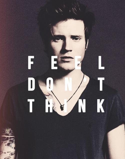 Feel don't think - Dougie Poynter