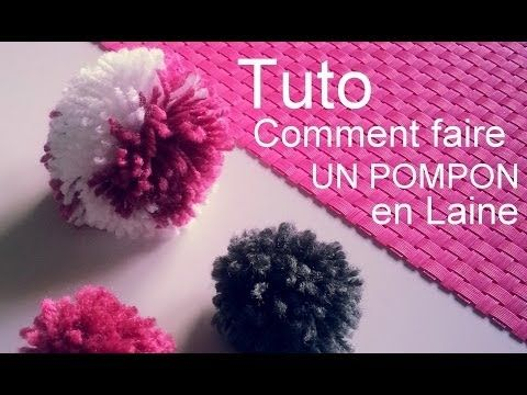 the 25 best ideas about comment faire un pompon on pinterest fabriquer un pompon sautoir. Black Bedroom Furniture Sets. Home Design Ideas