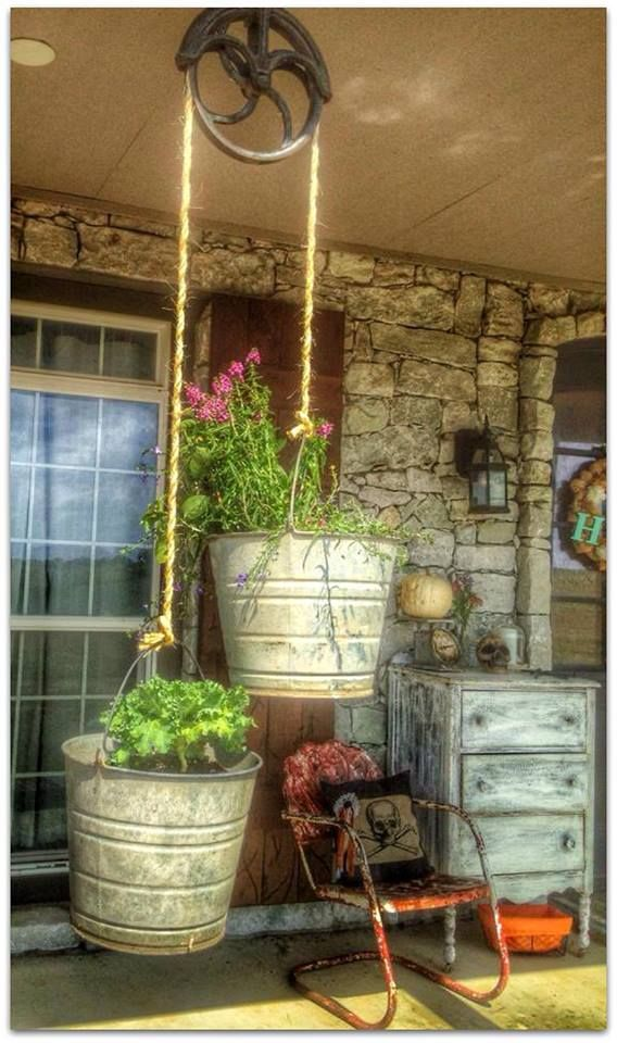 recycle, repurpose, reuse in the GARDEN! ✿✿✿