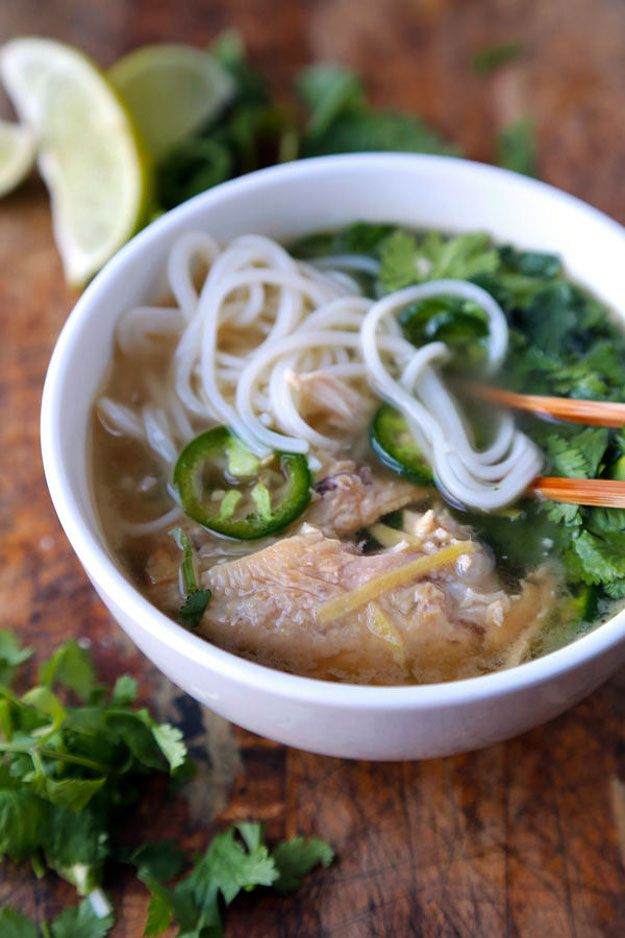 Pho recipe easy vietnamese chicken noodle soup see more for Asian cuisine and pho