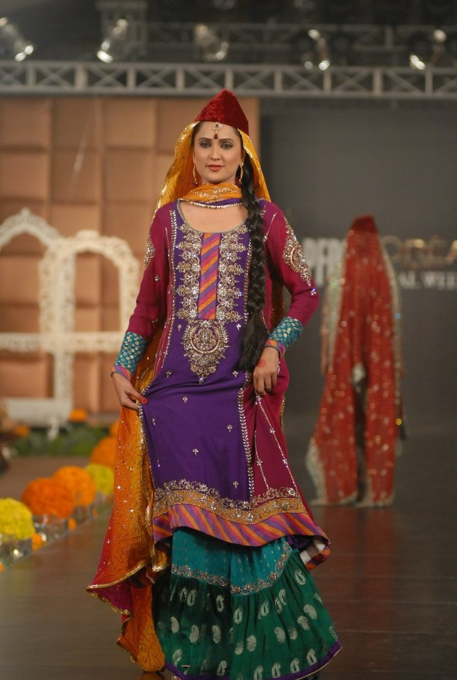 Pakistani Bridal Fashions in the Most Creative Styles come from Maria B