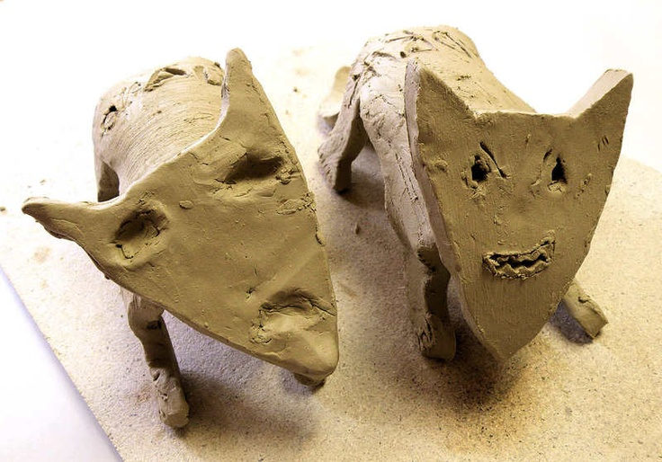 ...5 Schablonen und Anleitungsmaterial *Bär, Eichhörnchen, Elch, Fuchs, Wildschwein* für den Kindergarten, die Grundschule, den Kindergeburtstag oder