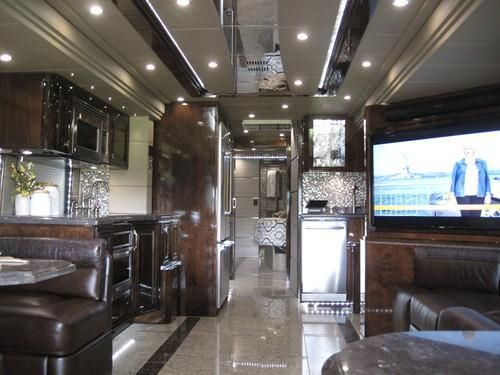 Talk about glamping go inside a million dollar rv the o for Million dollar motor homes