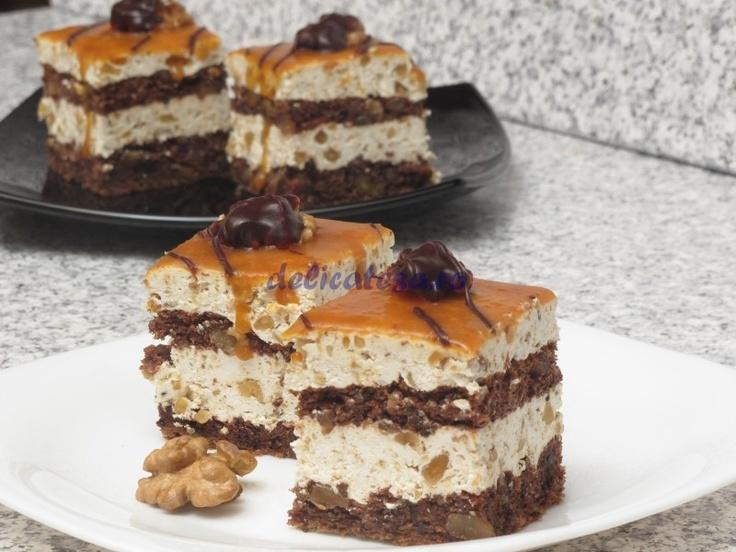 Prăjitură cu caramel - reţetă culinară
