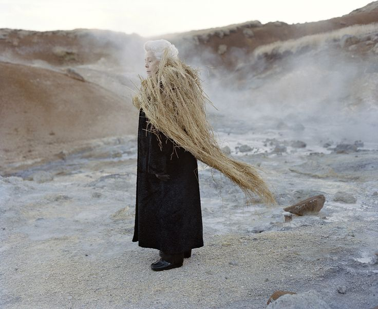Iceland / Edda - Eyes as Big as Plates started out as a play on characters and protagonists from Norwegian folklore with the Norwegian photographer Karoline Hjorth. The series has since moved on to exploring the mental landscape of the Finns, New Yorkers, French, Icelanders and the Faroese.