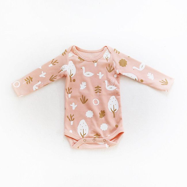 Pink Pacific Magical Forest Babygrow – Greenberry Kids