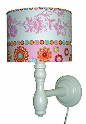 Kinderkamerlamp Wandlamp Fresh! Pink