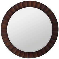 Sanona Round Oversized Wall Mirror
