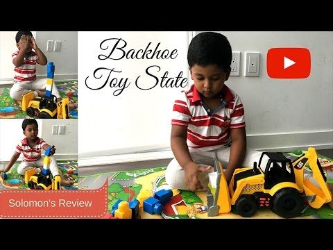 Backhoe - Toy state review