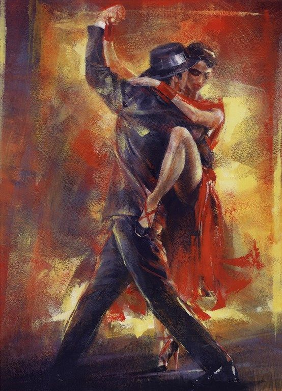 Tango - Page 3 Acd45366d7841de30035f12b48e98092--dance-paintings-oil-paintings