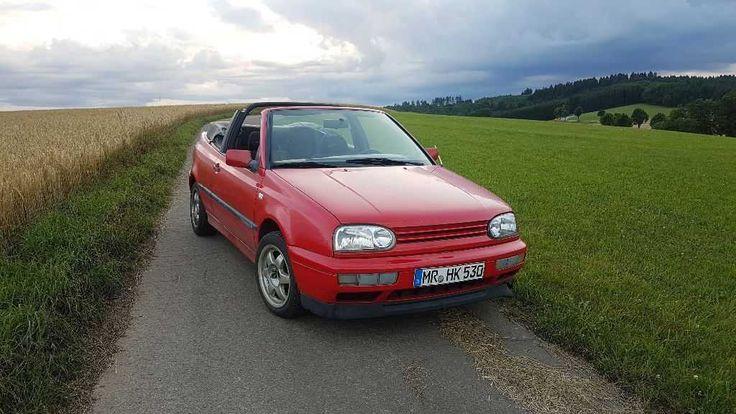 VW Golf 3 Cabrio 90PS TÜV neu