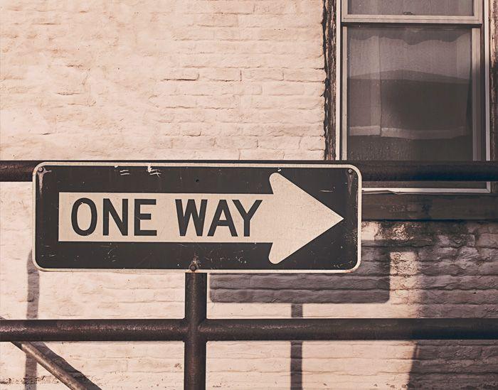 #oneway #einerichtung