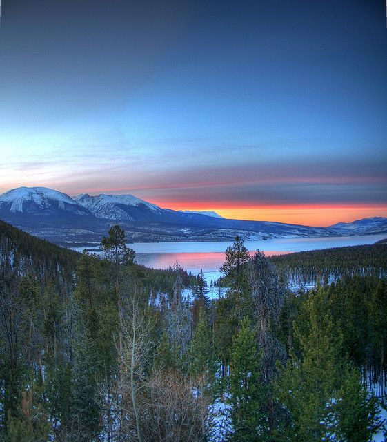 Lake Dillon Sunset, Dillon, Colorado