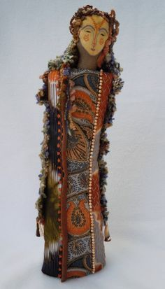 Image result for lucy landry art dolls and fibre art