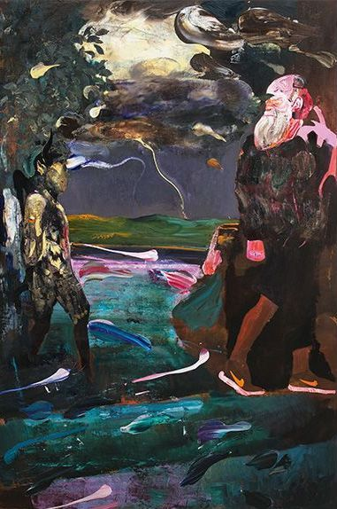 Darwin's Room by Adrian Ghenie @ VENICE BIENNALE 2015 – THE ROMANIAN PAVILION | THIS IS MY SUIT http://thisismysuit.com