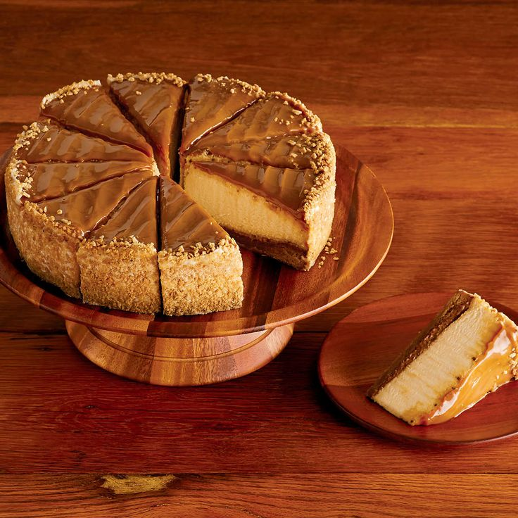The Cheesecake Factory Dulce de Leche Caramel Cheesecake Delivery