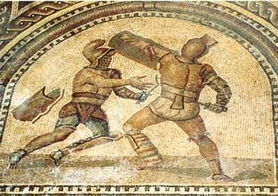 a history of the gladiator games in ancient rome Gladiators are to return to rome's most famous fight arena almost 2000  fights  will be serious and historical — not a 'disneyland-like attraction'  have allowed  historians to reconstruct rome's ancient gladiator games.
