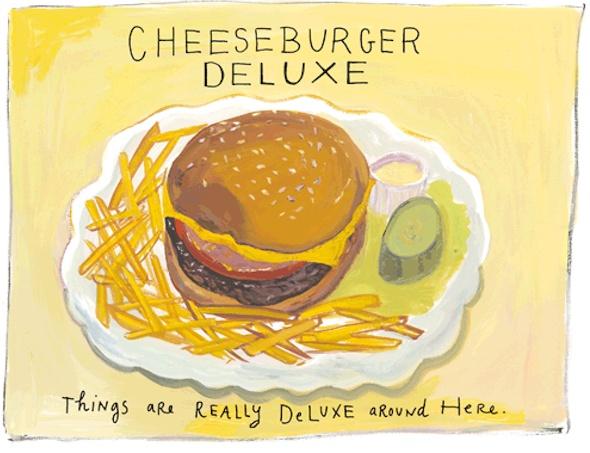 Cheeseburger Deluxe By Maira Kalman Via Gems
