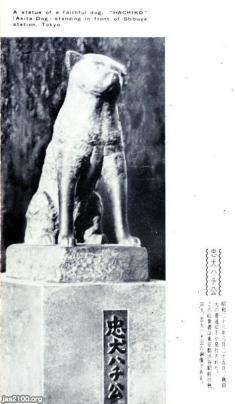 犬(昭和23年)▷2代目の忠犬ハチ公銅像 | ジャパンアーカイブズ - Japan Archives
