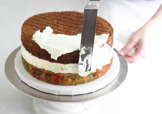 how to make ice cream cake in home