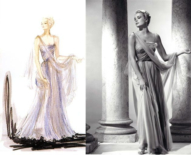 pictures of edith head designs | Sew Many Seams: Designer of the Week: Edith Head